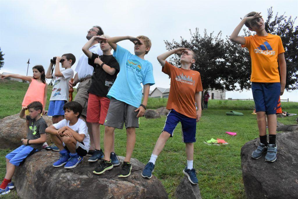 Outdoor Leadership Build Their Campsite - Episcopal Academy